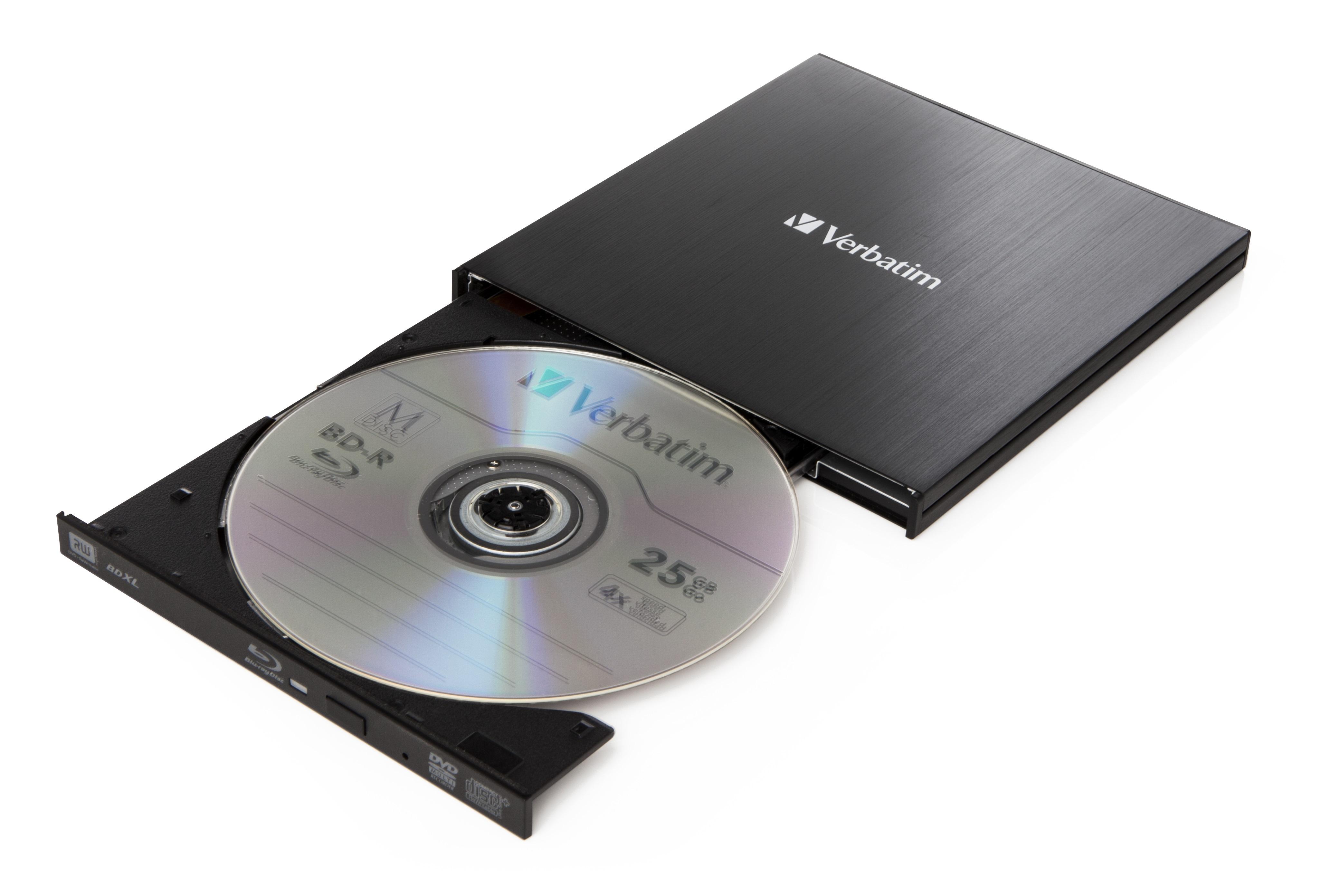 Slimline BDXL Writer (6 speed, USB 3.0, extern)