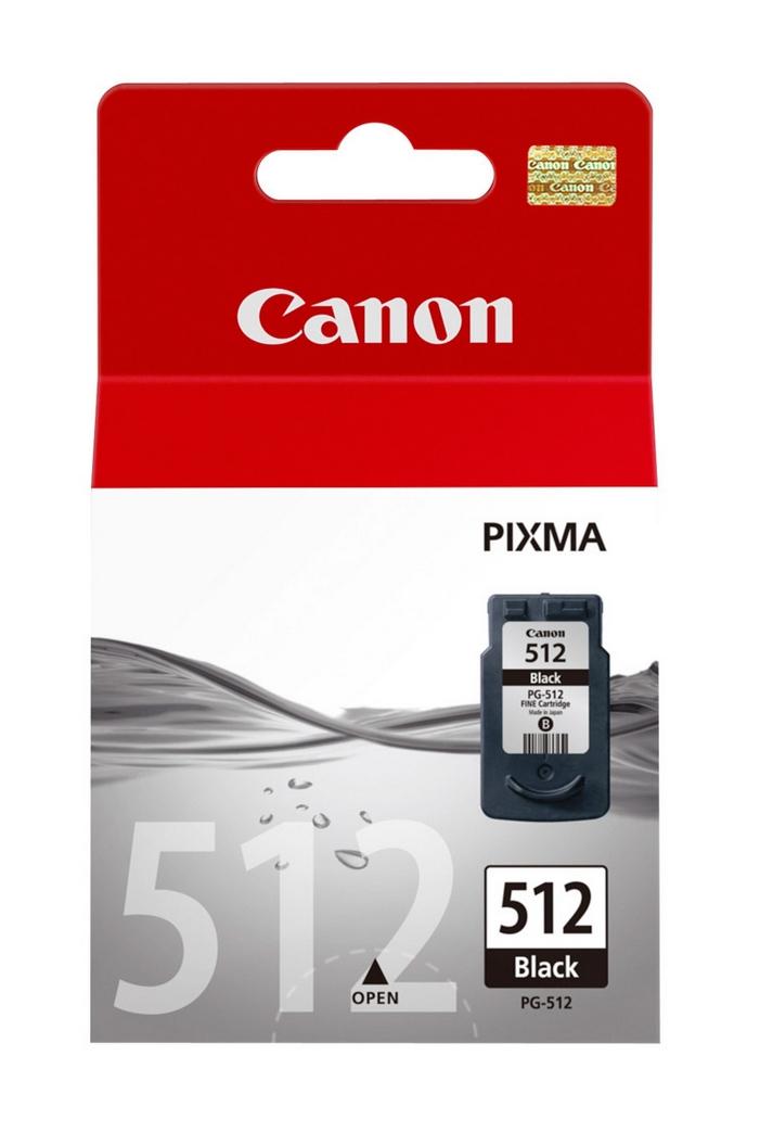 PG-512 inkjetcartridge zwart (400 afdrukken)