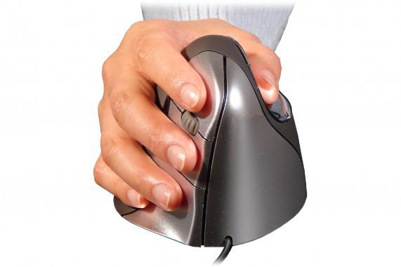 Evoluent Vertical Mouse 4 (optisch, 6 knoppen, USB)