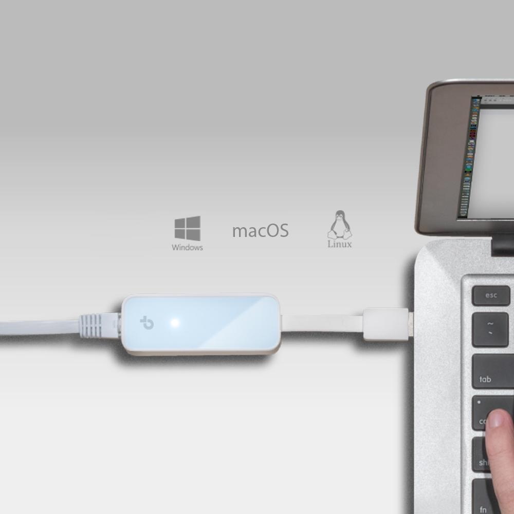 UE200 Network adapter (USB 2.0, 10/100 Ethernet)