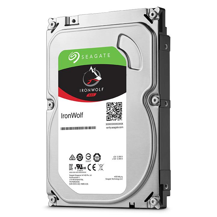 2000 GB IronWolf ST2000VN004 Hard drive (SATA 6 Gb/s, 5900 rpm, 64 MB cache)