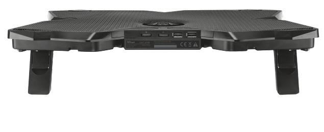 """GXT 278 Notebook stand met 4 cooling fans (voor 17,3"""" laptops)"""