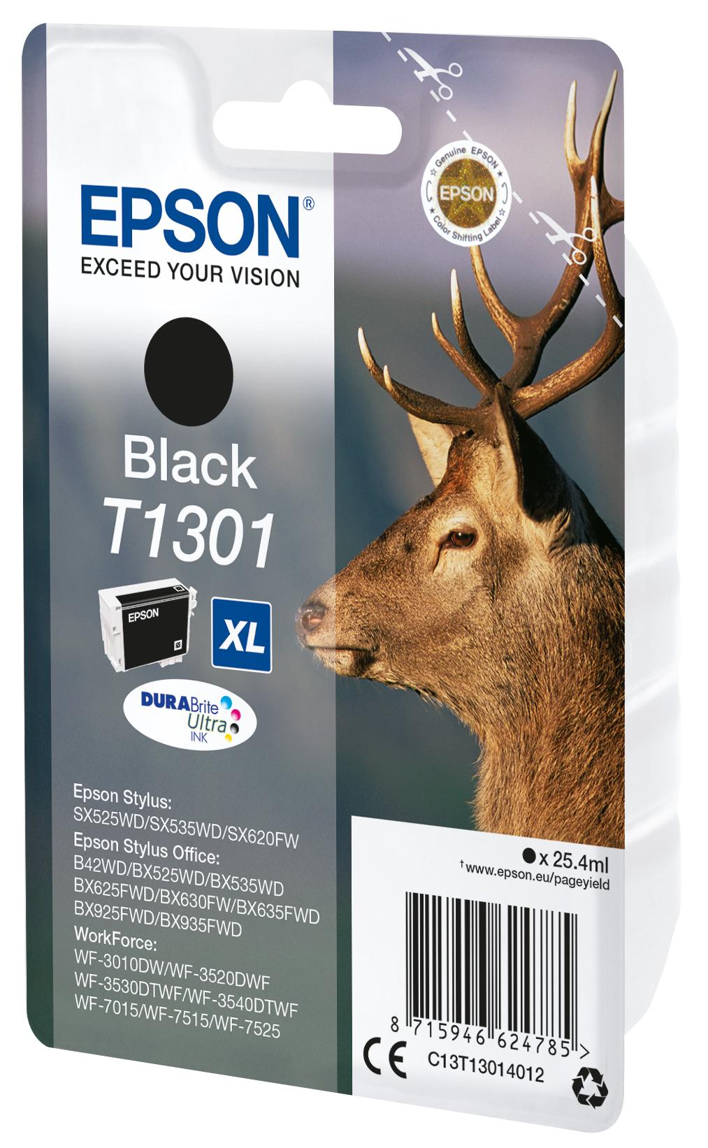 T1301 inkjetcartridge zwart (945 afdrukken)