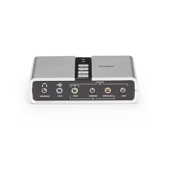 7.1 USB Audio Adapter External Sound Card