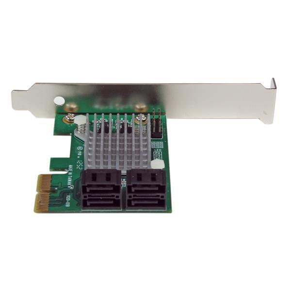 4-poort PCI-E SATA III 6 Gbps RAID Controller