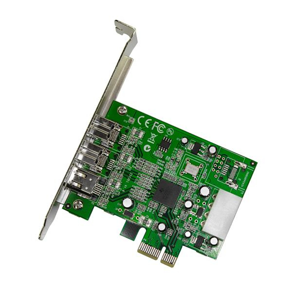 FireWire 400 + FireWire 800 PCI Express kaart