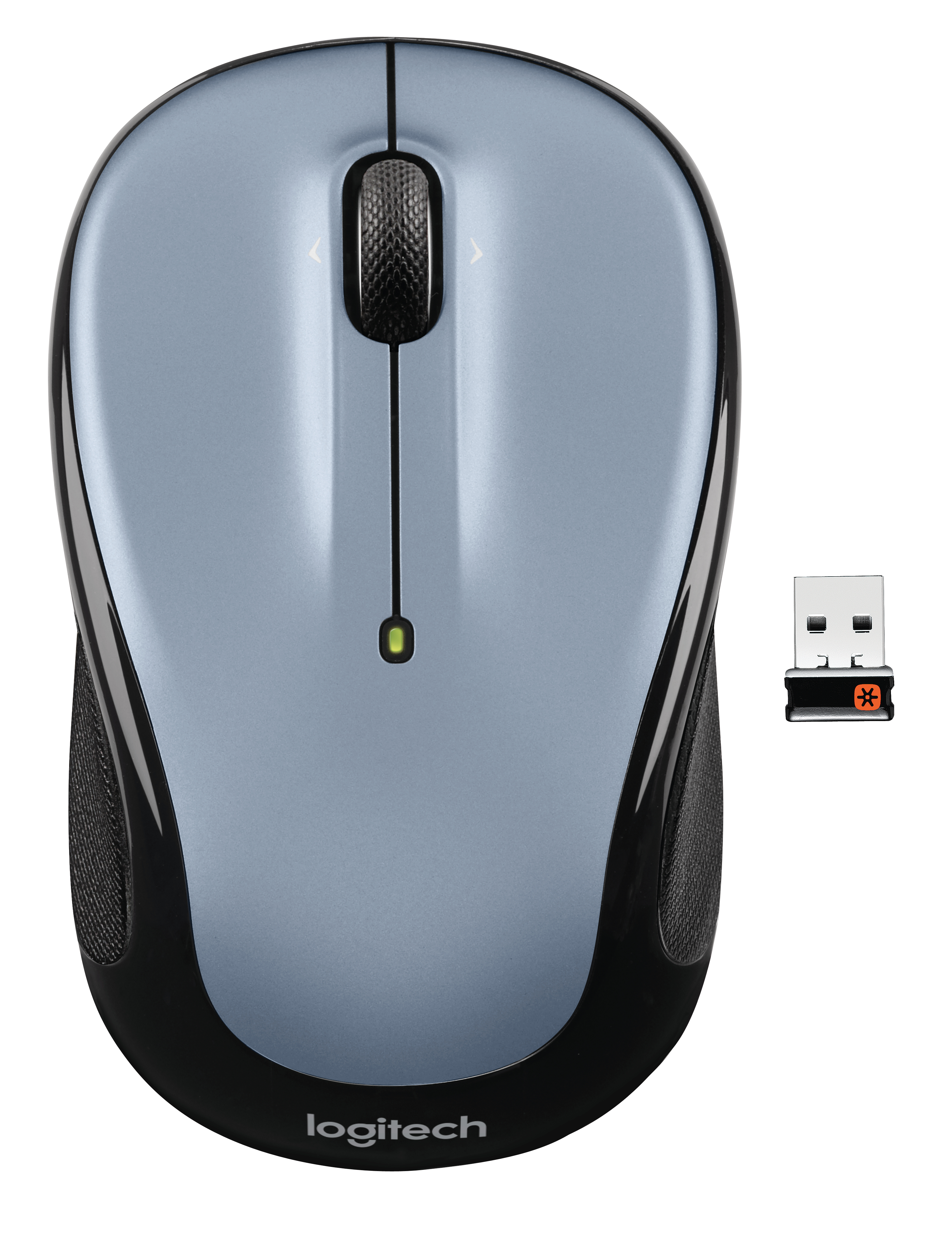 M325 Wireless Mouse (zilver)