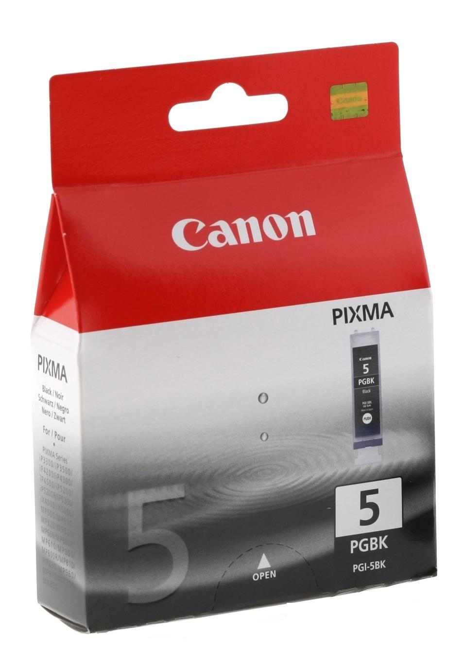 PGI-5BK inkjetcartridge (zwart, 26 ml)