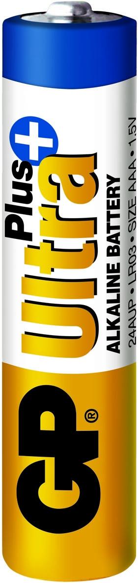 Batterij alkaline AAA/LR03 1,5 Volt Ultra Plus (4-pack)