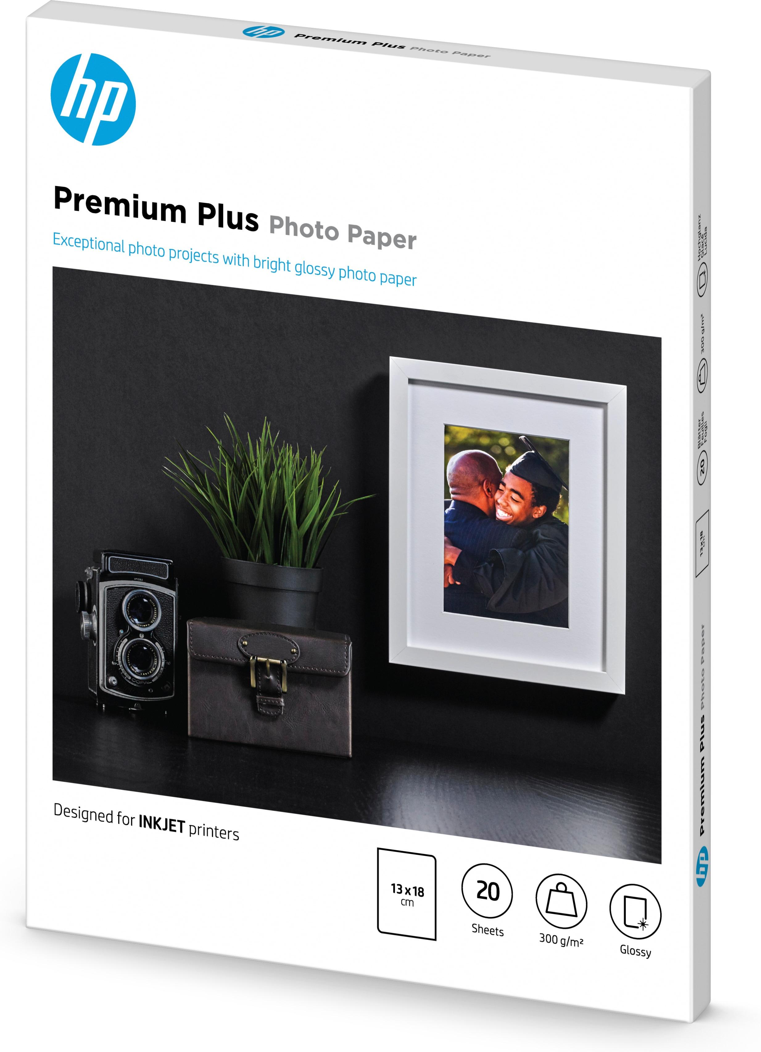CR676A Premium Plus Glossy Photo Paper (13 x 18 cm, 20 vellen)