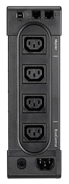 """Ellipse Pro 650 UPS (230 V, 400 Watt, 650 VA, USB, 4 output connectors, 2U, 19"""", IEC)"""