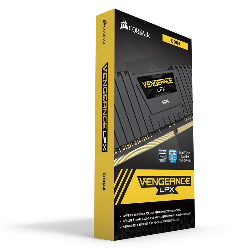 CMK16GX4M1D3000C16 Vengeance LPX DDR4 16 GB, 288-pin, 3000 MHz, PC4-24000, CL16, zwart