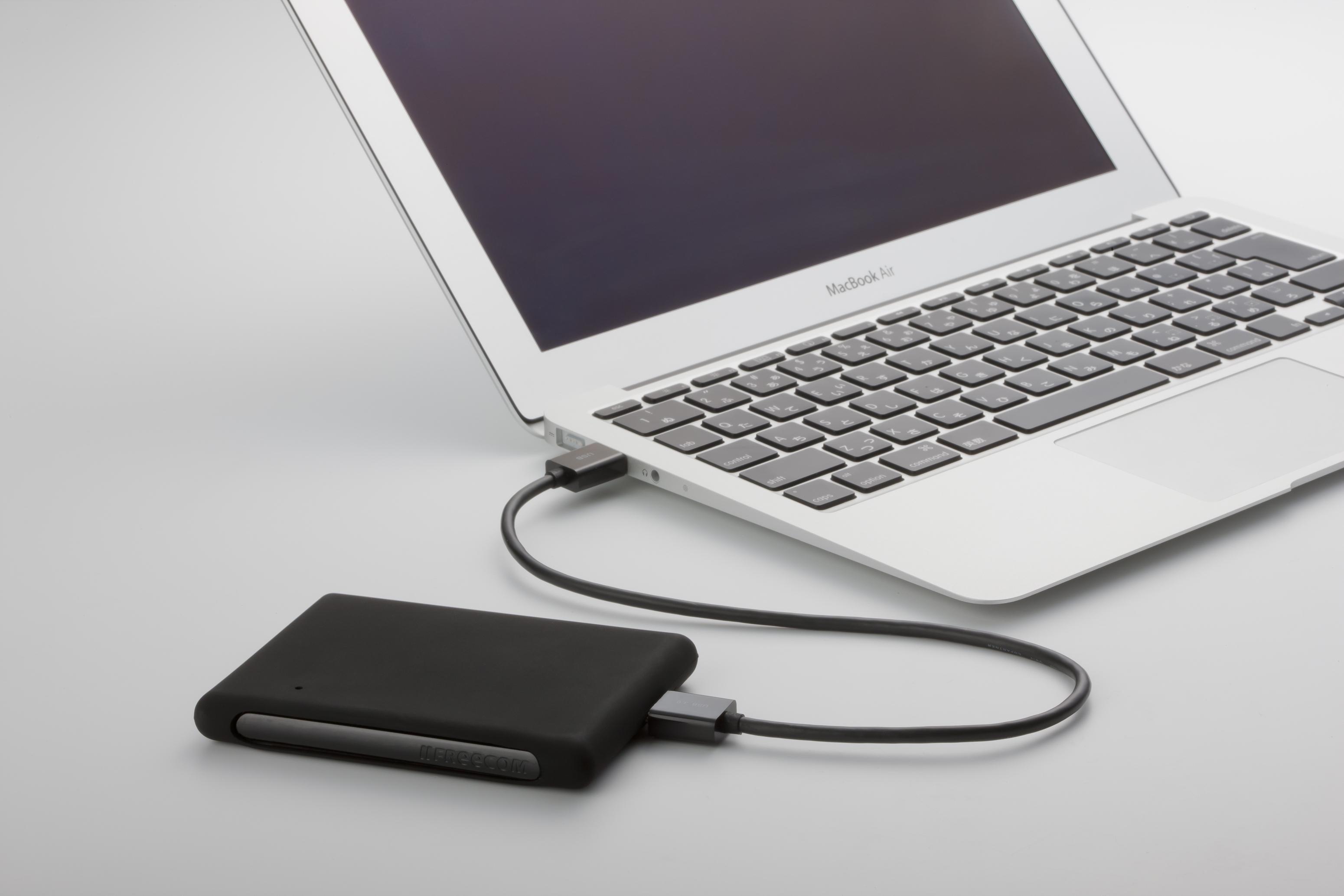 2000 GB Mobile Drive XXS 3.0 (USB 3.0, zwart)