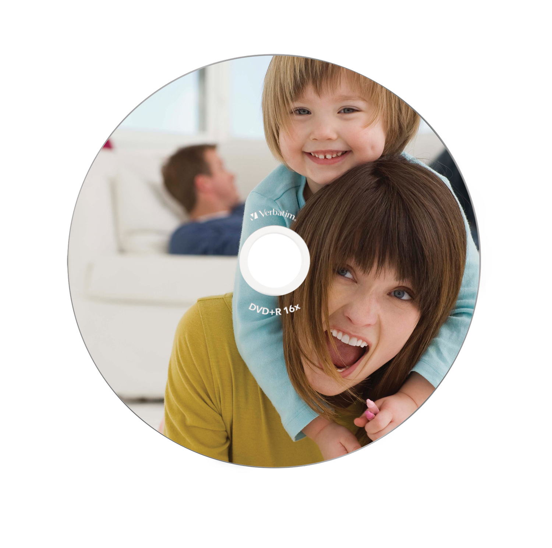 DVD+R 4,7 GB 16 speed (foto-bedrukbaar, 10-pack jewelcase)