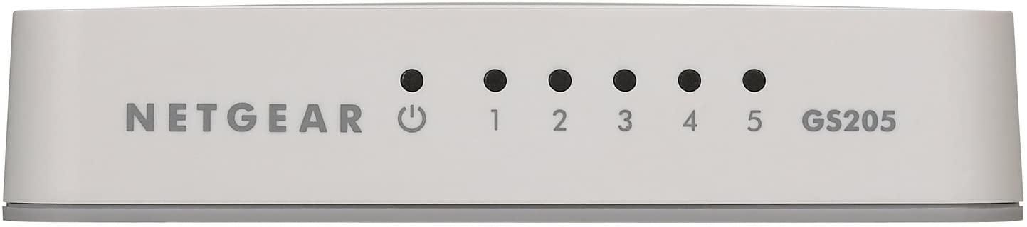 GS205-100PES Gigabit Ethernet Switch (5 poorten)