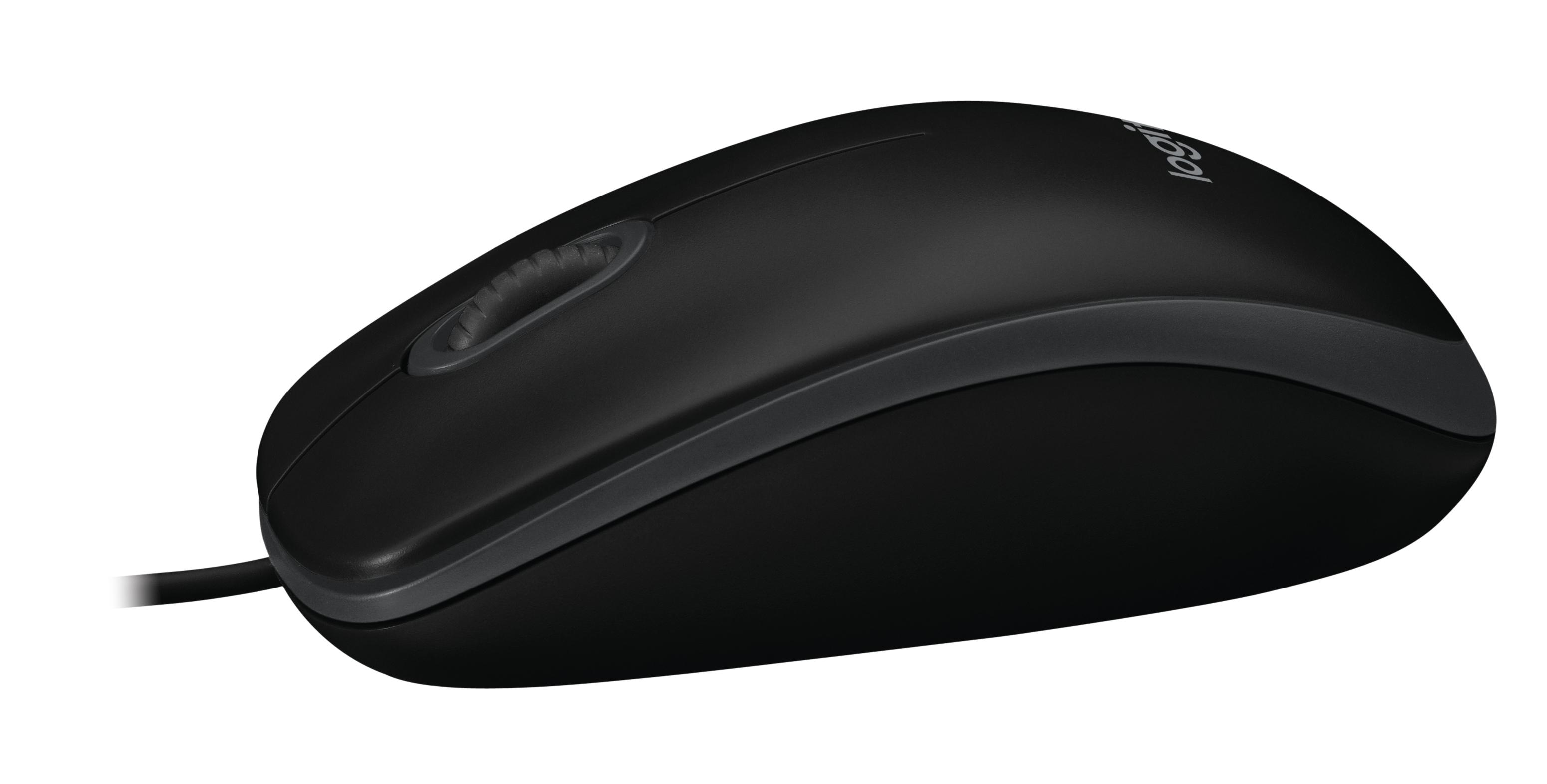 B100 Optical Mouse (zwart)