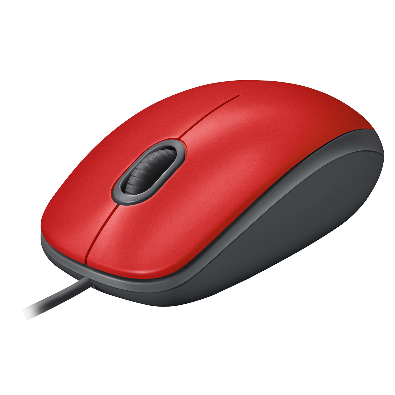 M110 Silent Mouse (optisch, 3 knoppen, rood)