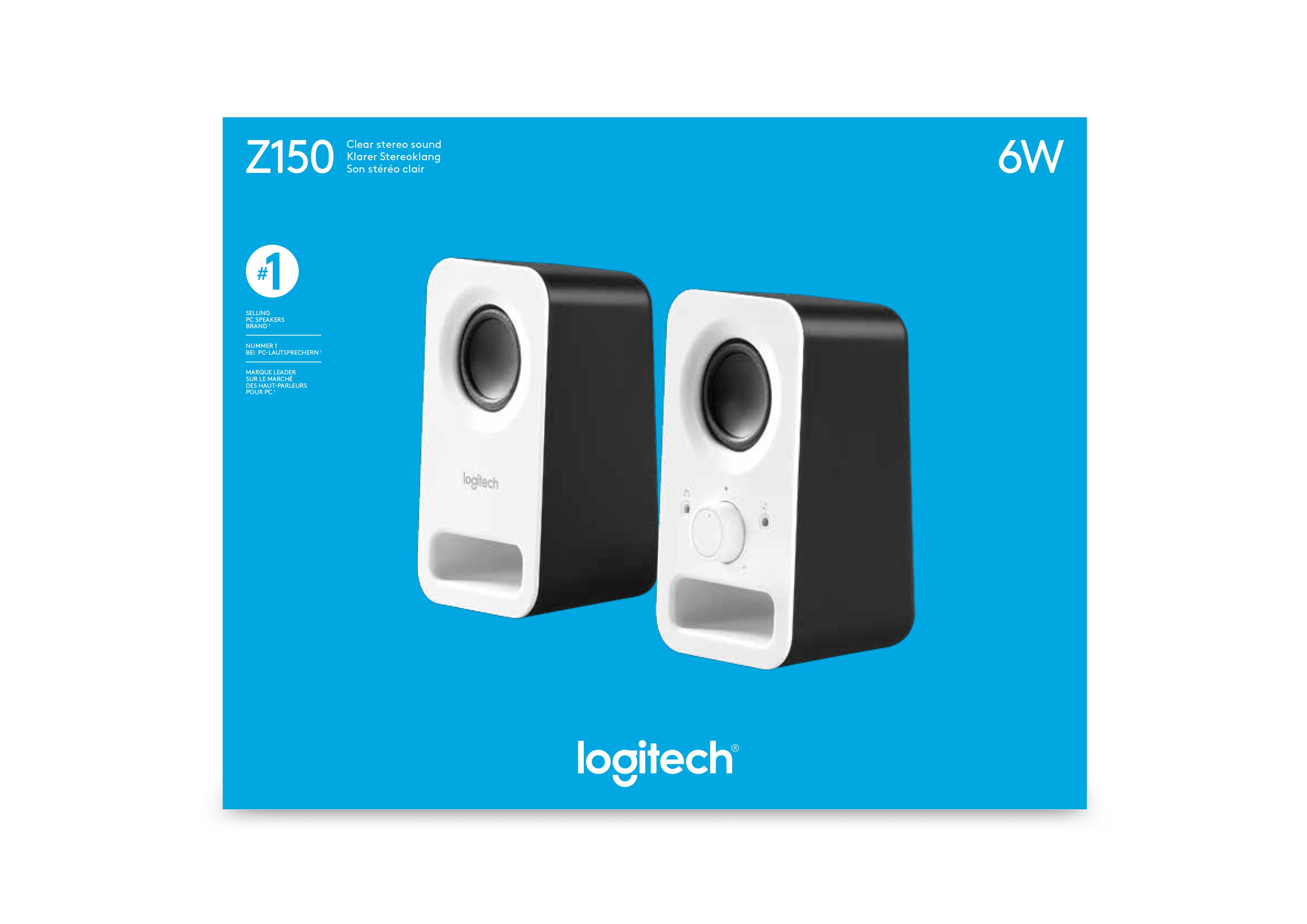 Z150 PC Speakers (wit)