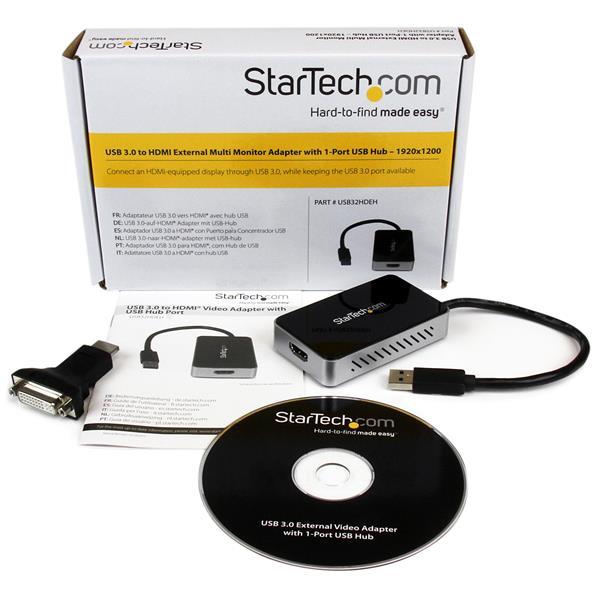 USB 3.0 naar HDMI External Video Card Multi Monitor Adapter (1920 x 1200)