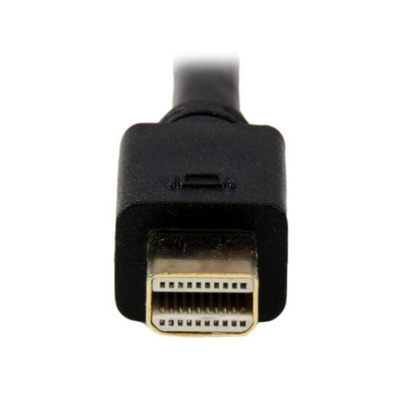 Mini DisplayPort naar VGA Adapterkabel (1 meter, 1920 x 1200, zwart)