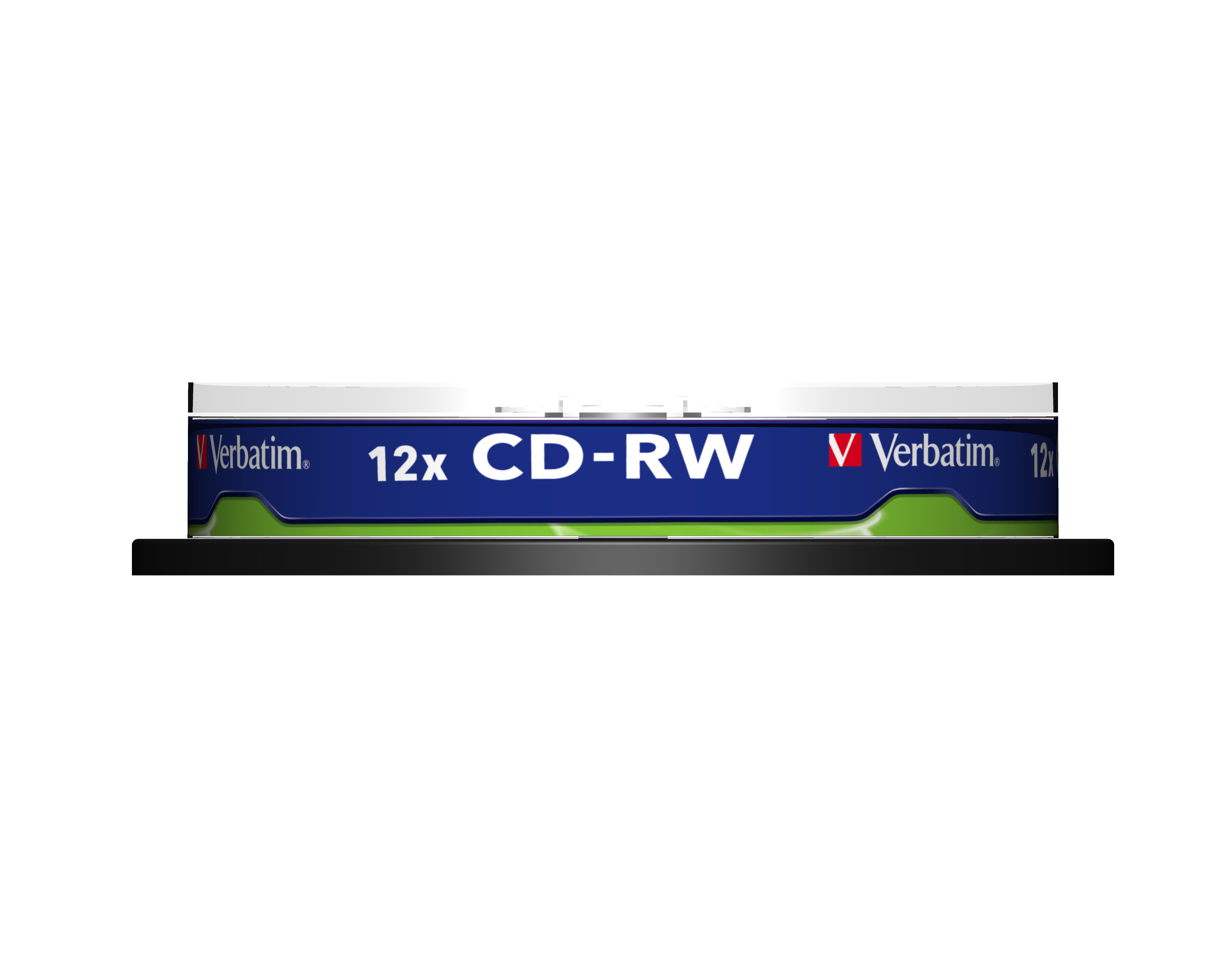 CD-RW 700 MB, 12 speed (10-pack jewelcase)