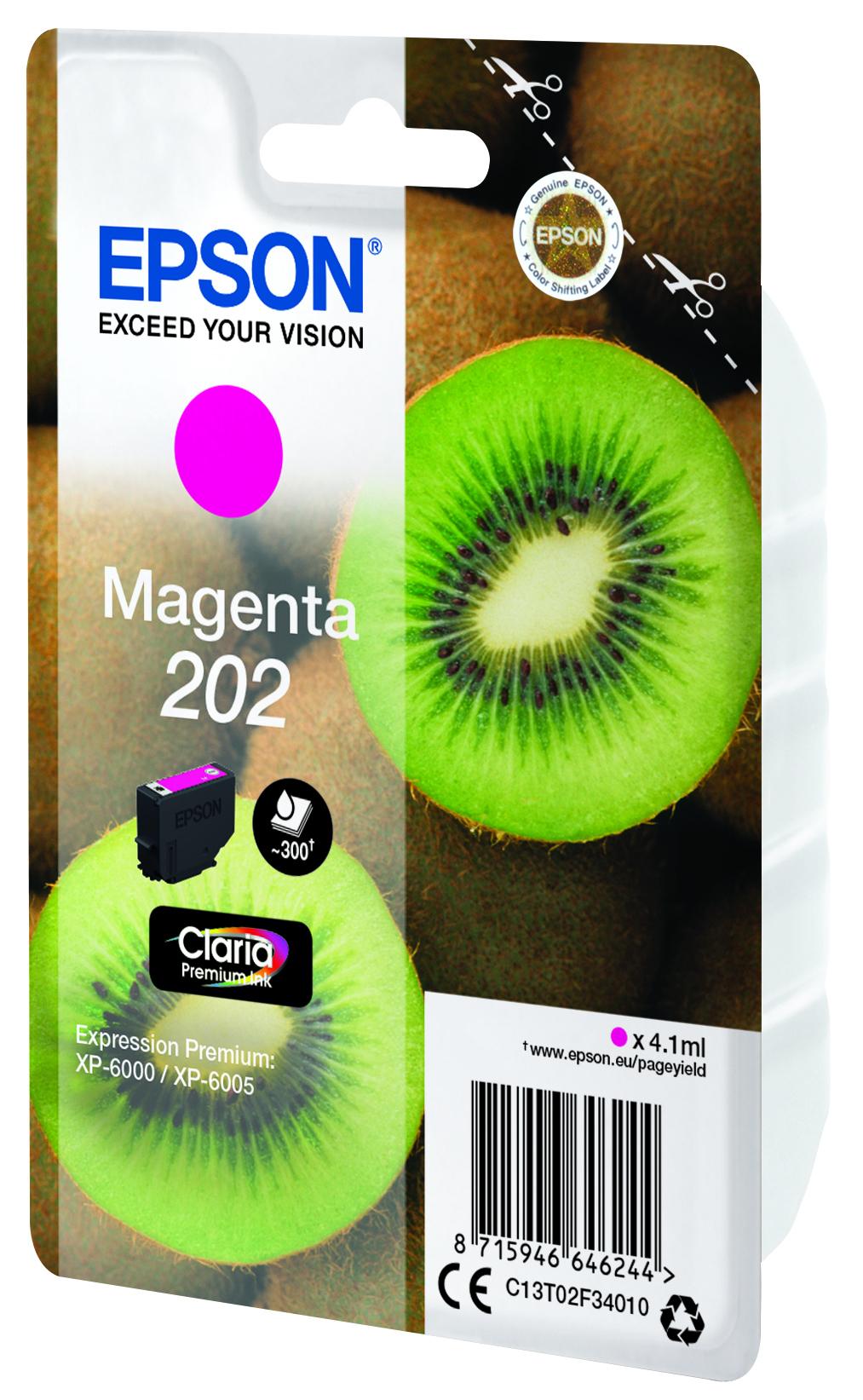 T02F3 inkjetcartridge 202 magenta (4,1 ml)