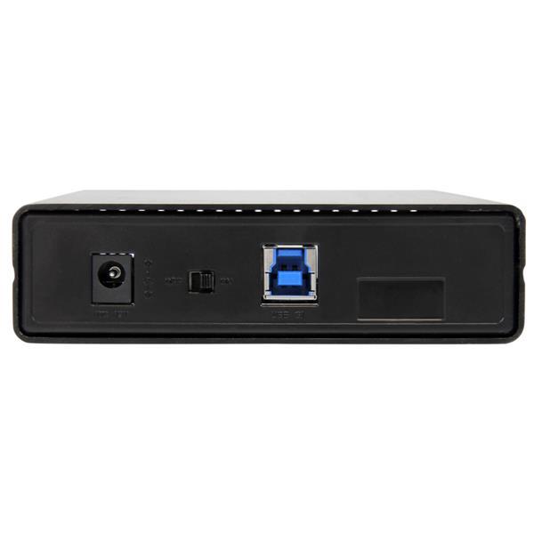 """USB 3.1 Gen 2 Enclosure voor 3,5"""" SATA Drives (Serial ATA/600, USB 3.1, aluminium)"""