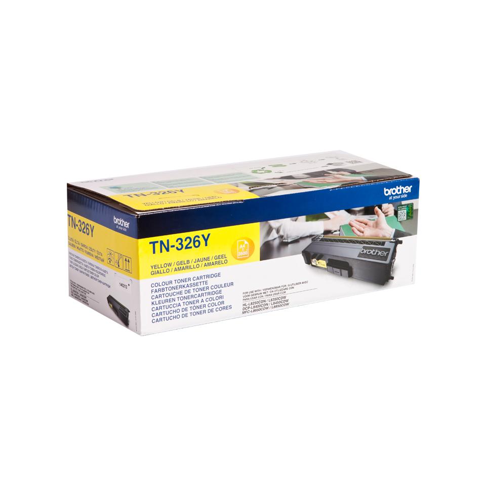 TN-326Y toner geel (3.500 afdrukken)