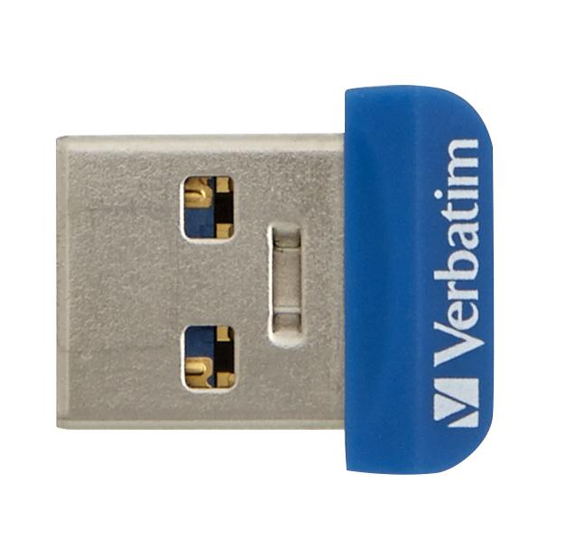 Store 'n' Stay Nano USB flash drive 16 GB (USB 3.0, blauw)