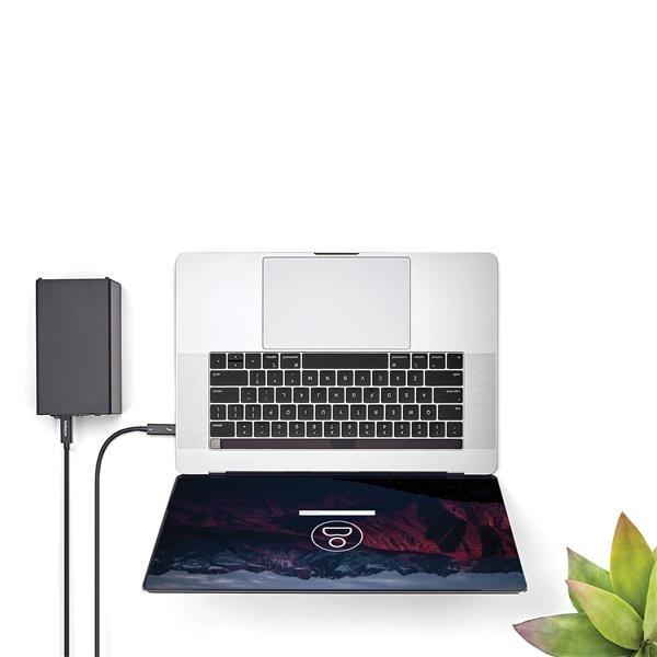 Thunderbolt 3 USB-C kabel (40 Gbps, M/M, 2 meter, 4K support, zwart)