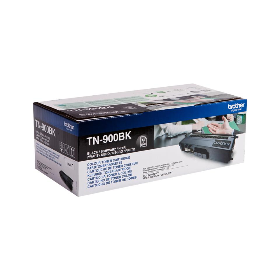 TN-900BK toner zwart (6.000 afdrukken)