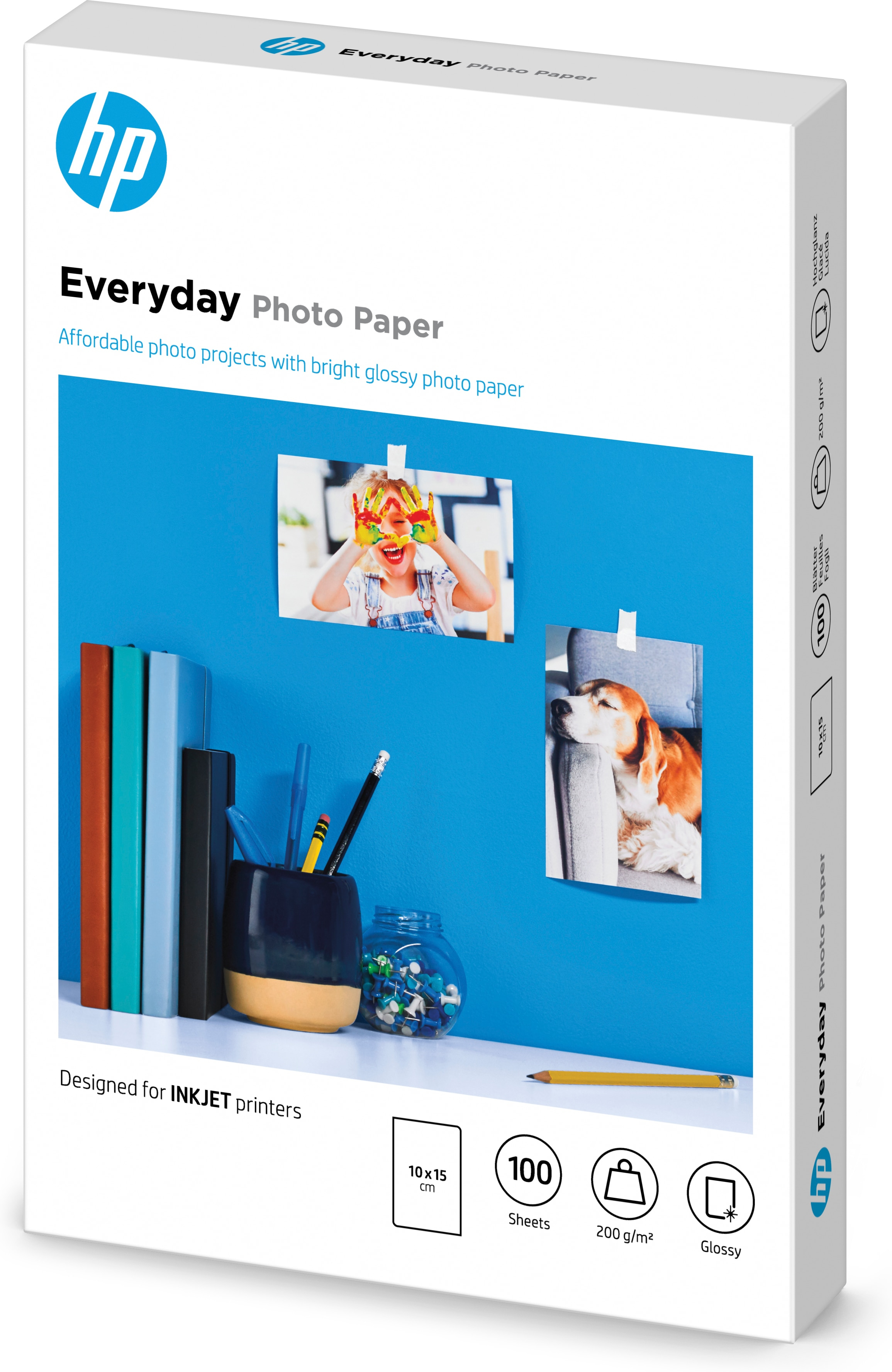 CR757A Everyday Glossy Photo Paper (100 x 150 mm, 200 g/m², 100 vellen)