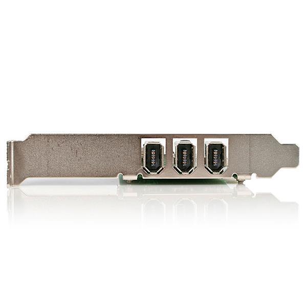 3-poort PCI IEEE1394 FireWire kaart