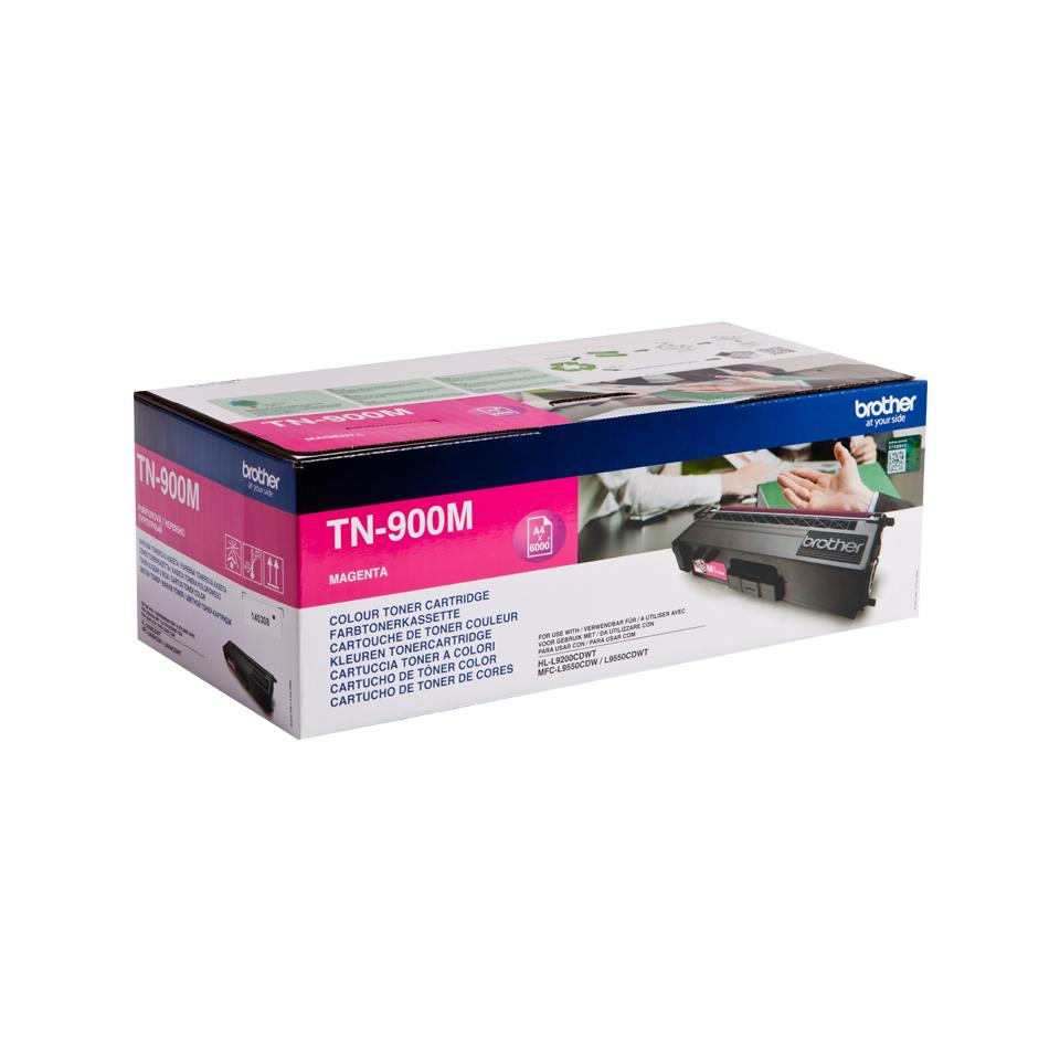TN-900M toner magenta (6.000 afdrukken)