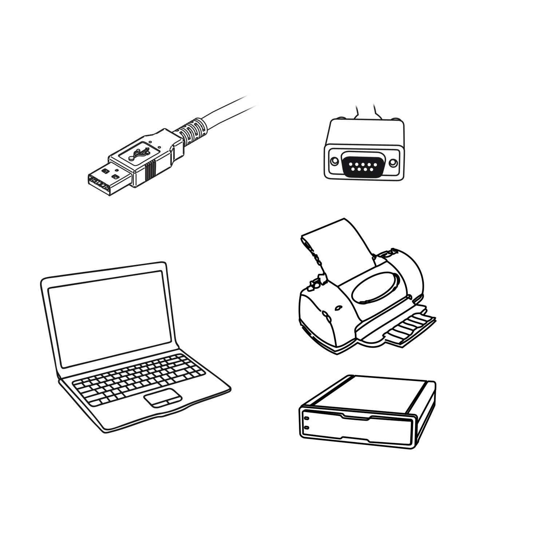 USB naar seriële adapter (high performance)