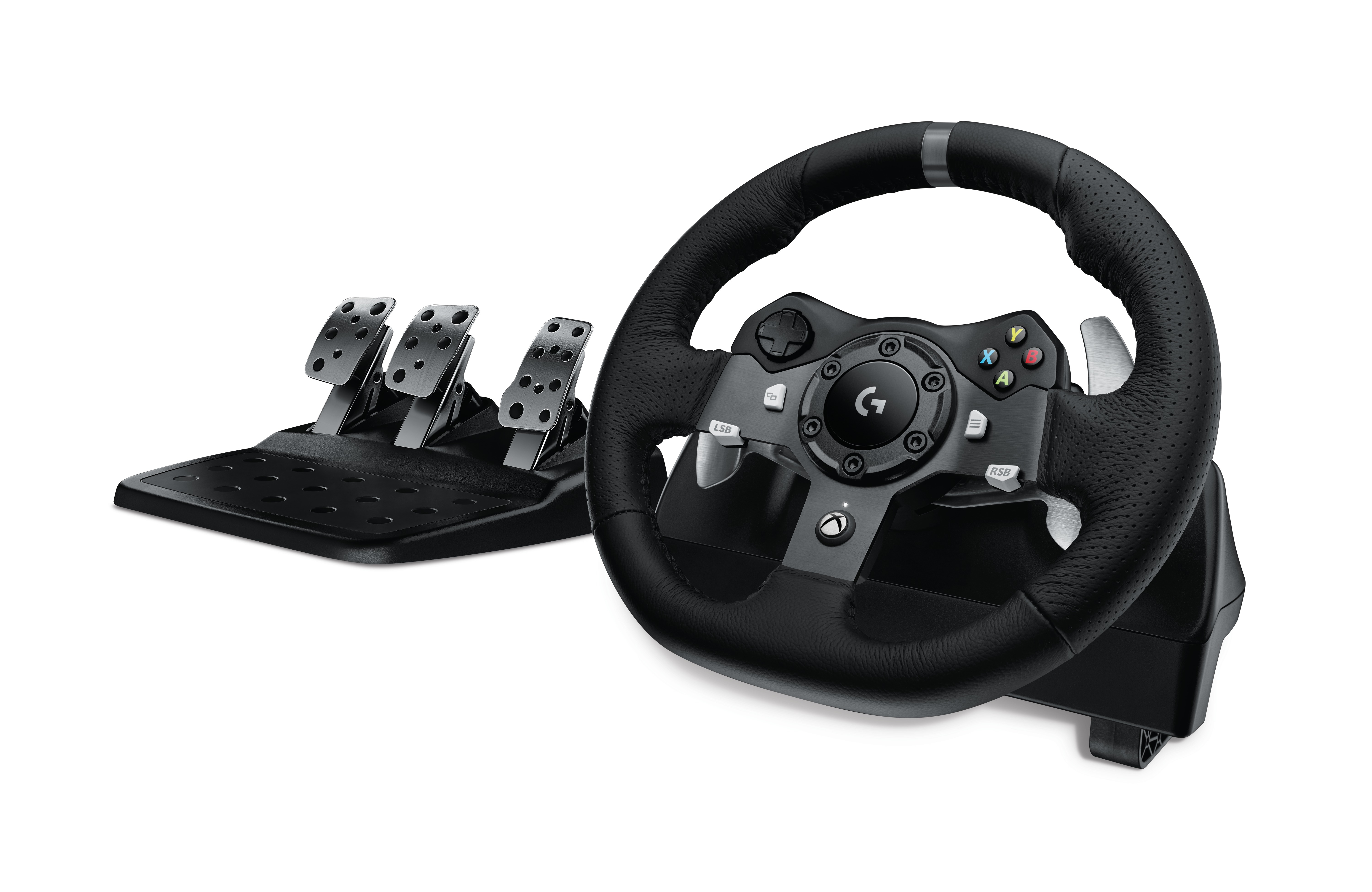 G920 Driving Force Wheel & pedals set (voor Microsoft Xbox One)