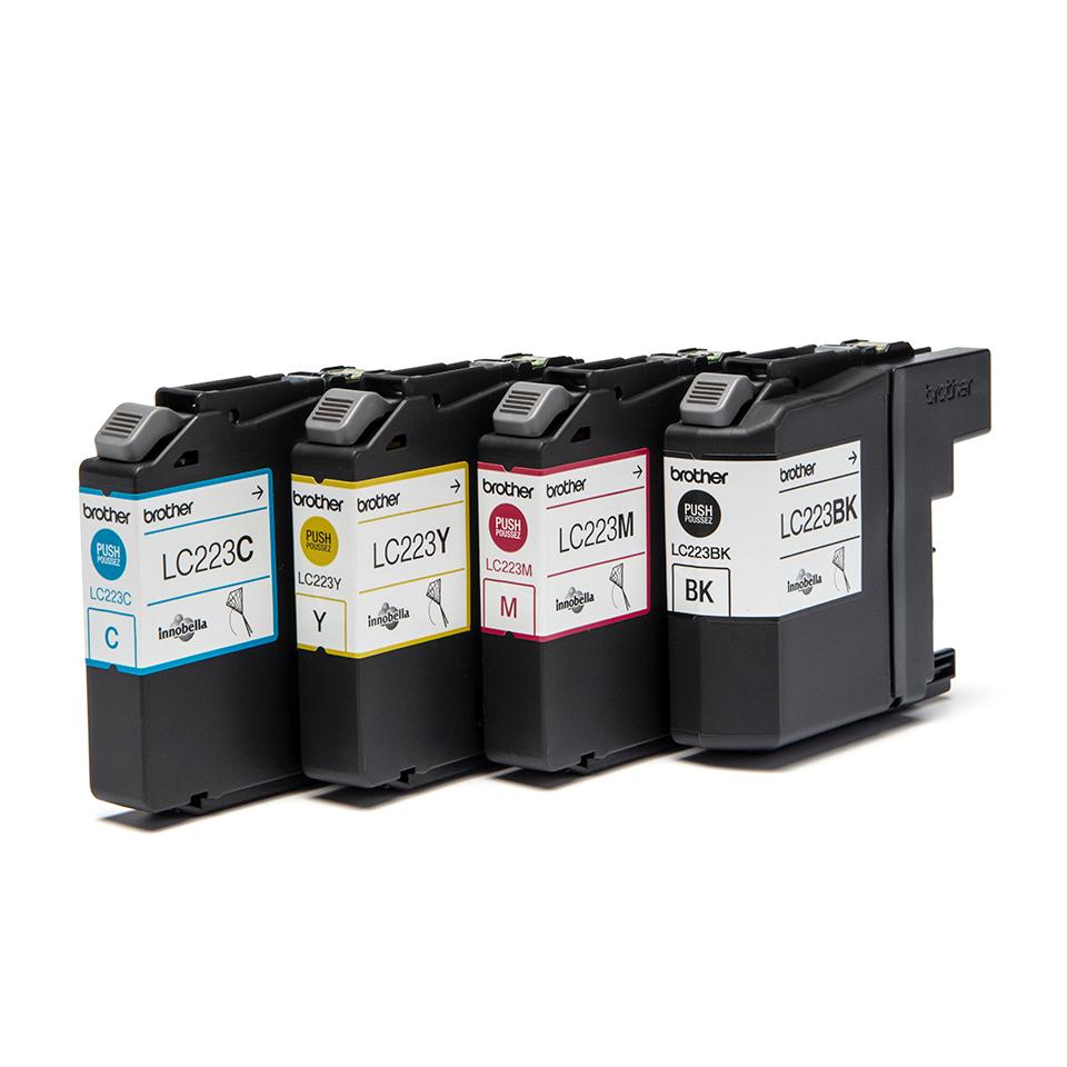 LC223VALBP inkjetcartridges valuepack (zwart, cyaan, magenta en geel)