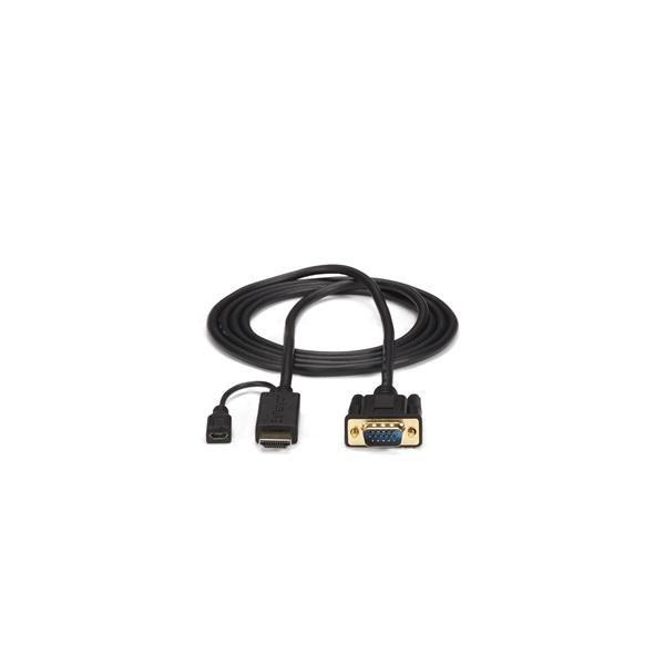 HDMI naar VGA actieve converterkabel (90 cm, 1920 x 1200, 1080p)