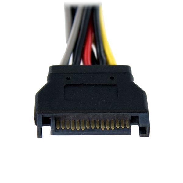 SATA Voeding Y splitterkabel M/F (15 cm)