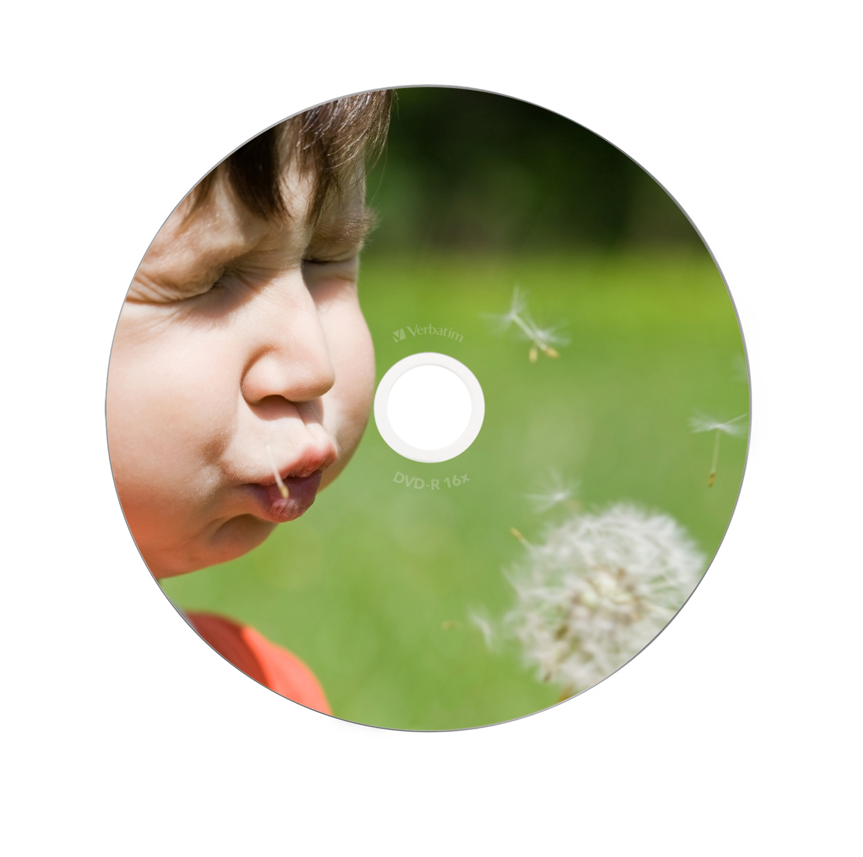 DVD-R 4,7 GB 16 speed (Advanced AZO Printable, 10-pack jewelcase)