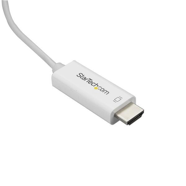 USB-C naar HDMI-kabel (4K 60Hz, 3 meter, wit)