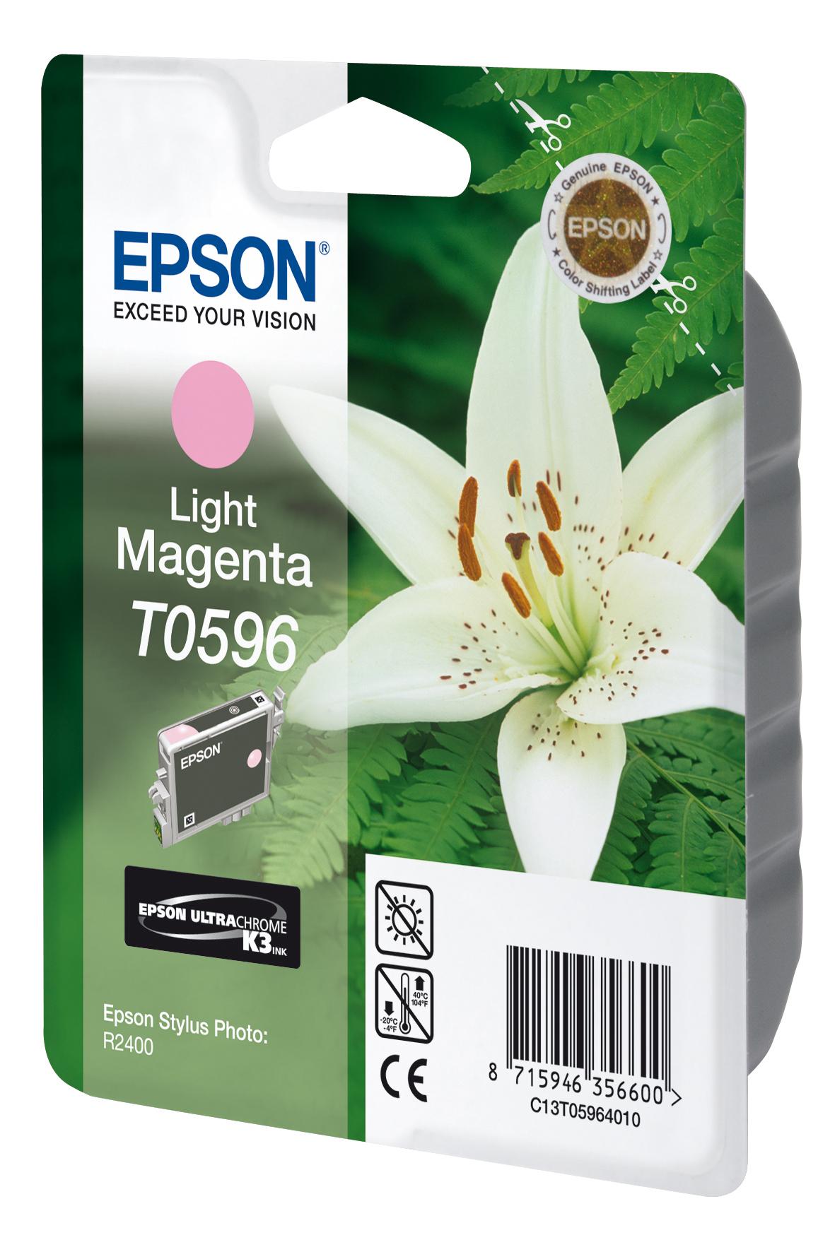 T0596 inkjetcartridge licht-magenta