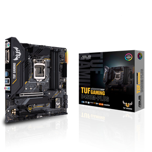 Socket 1200 : TUF GAMING B460M-PLUS (micro ATX, B460, USB 3.2 Gen 1, Gigabit LAN, onboard graphics, HD Audio 8-channel)