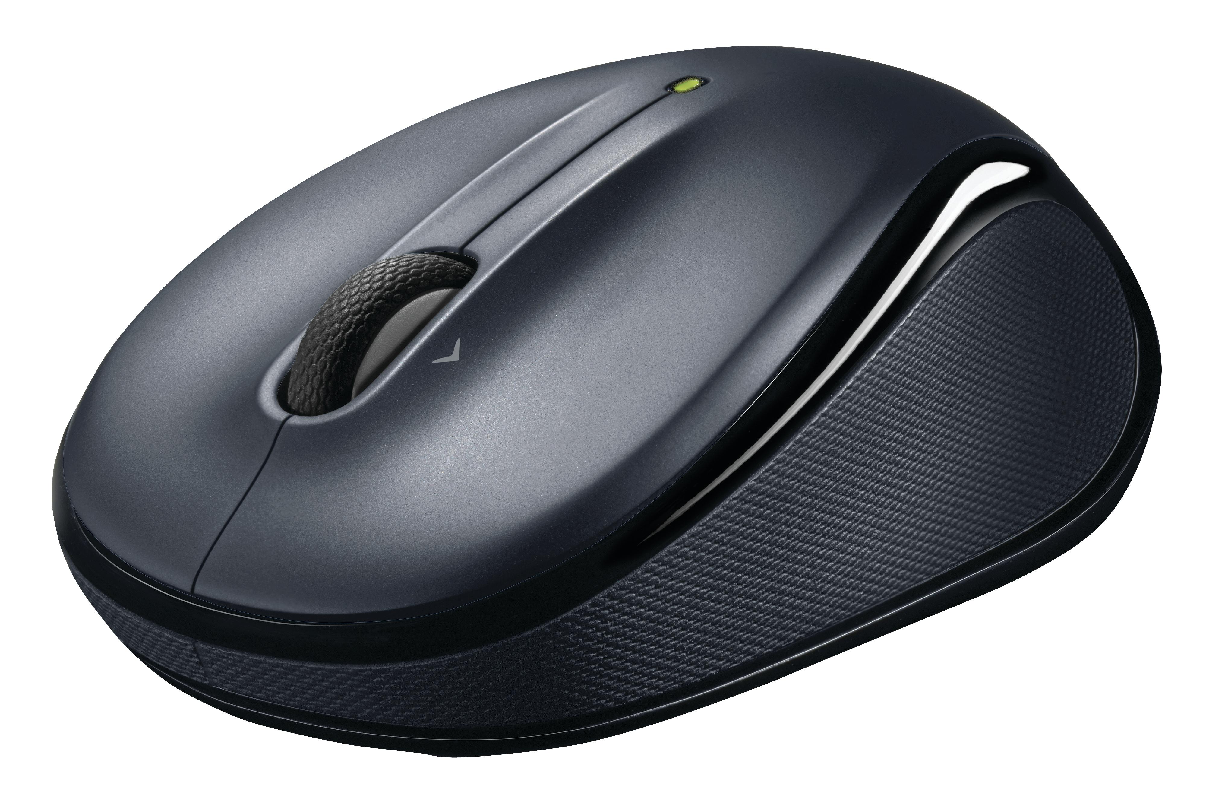 M325 Wireless Mouse (donkerzilver)