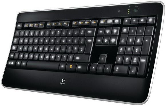 K800 Wireless Illuminated Keyboard