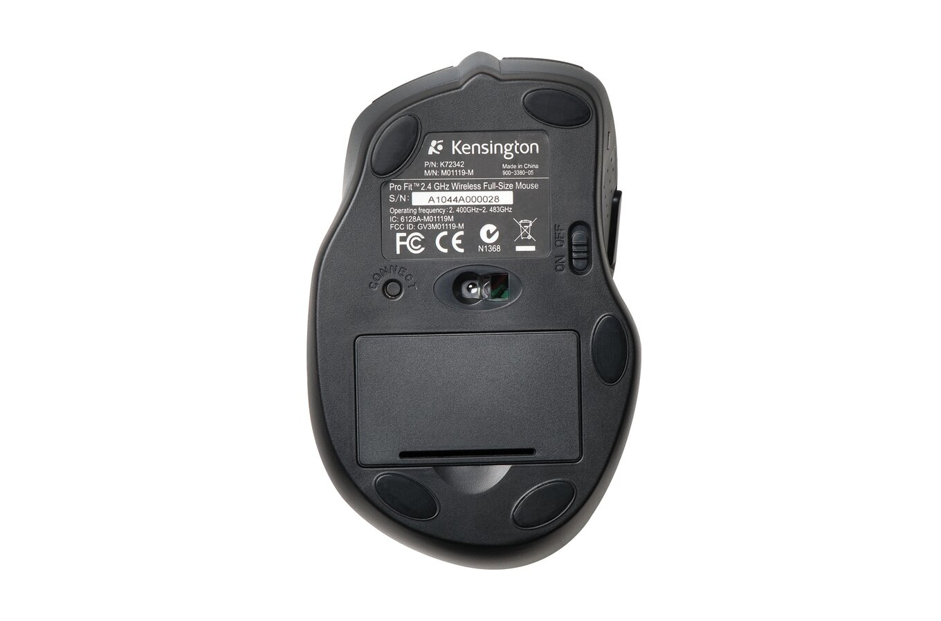 Pro Fit Full Size Wireless Mouse