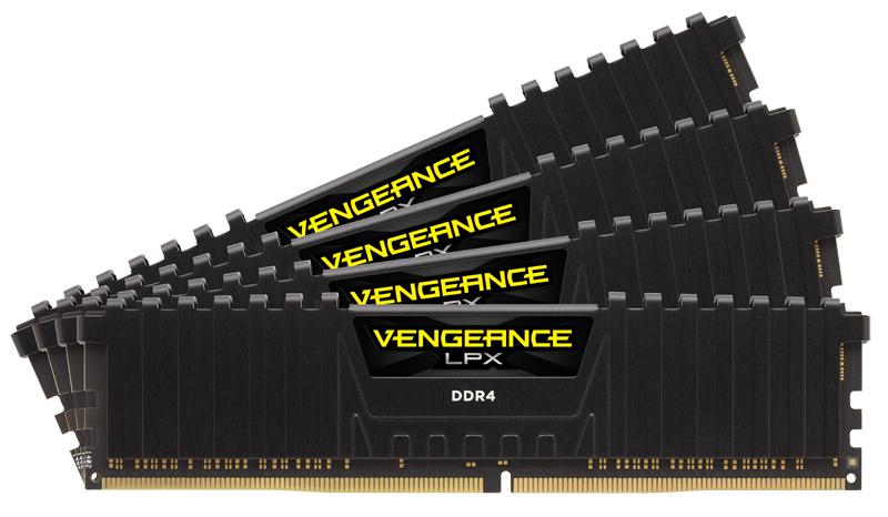 CMK16GX4M2B3200C16 Vengeance LPX DDR4, 16 GB, 288-pin, 3200 MHz, PC4-25600, CL16 (2 x 8 GB)