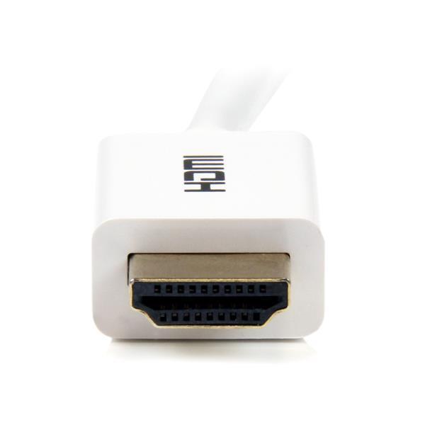 In-wall High Speed HDMI-kabel M/M (2 meter, wit)