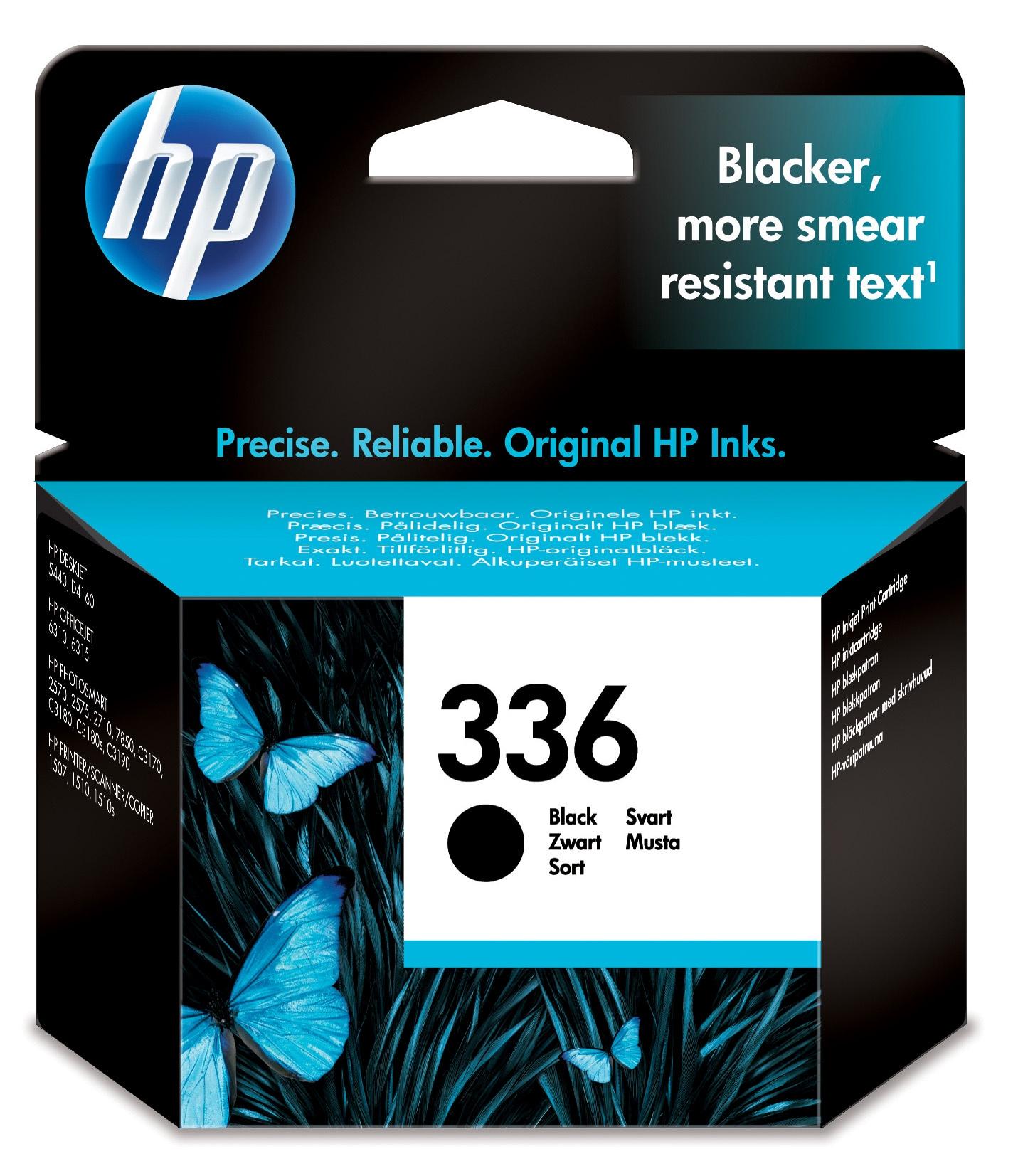 C9362EE inkjetcartridge zwart nr. 336 (210 afdrukken)
