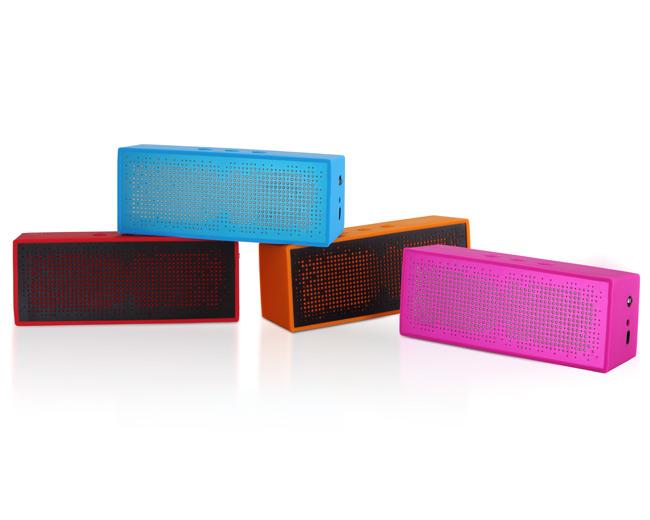 BlueTooth Portable Speaker (roze)